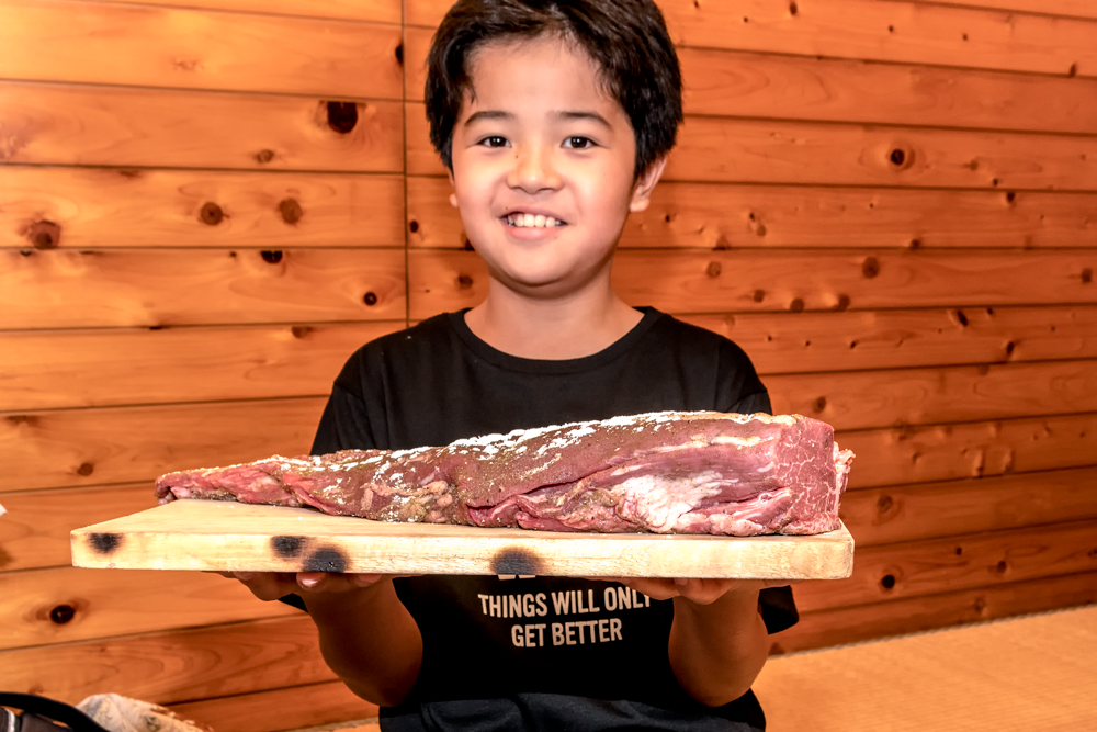 ダ・ロープ亭 ブロック肉 ステーキ