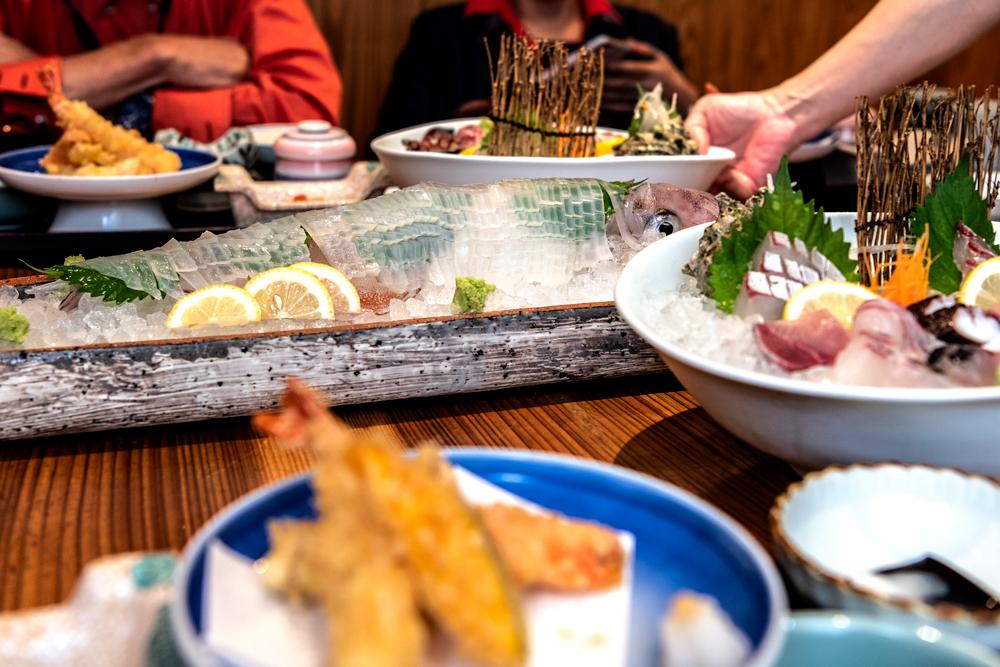 イカ料理 旬菜魚酒 笠やま ランチタイム