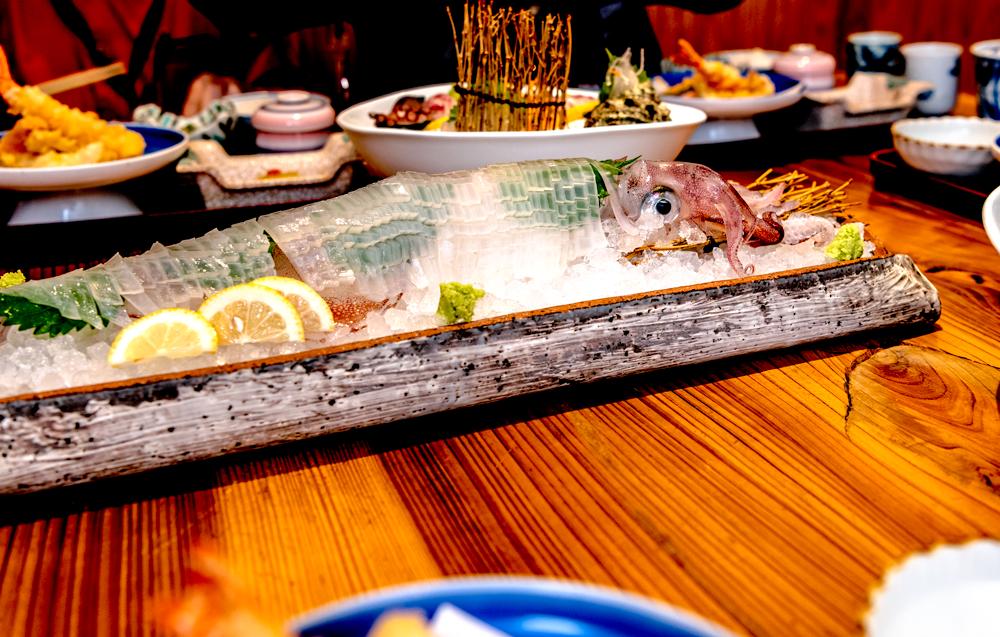 イカ料理 旬菜魚酒 笠やま