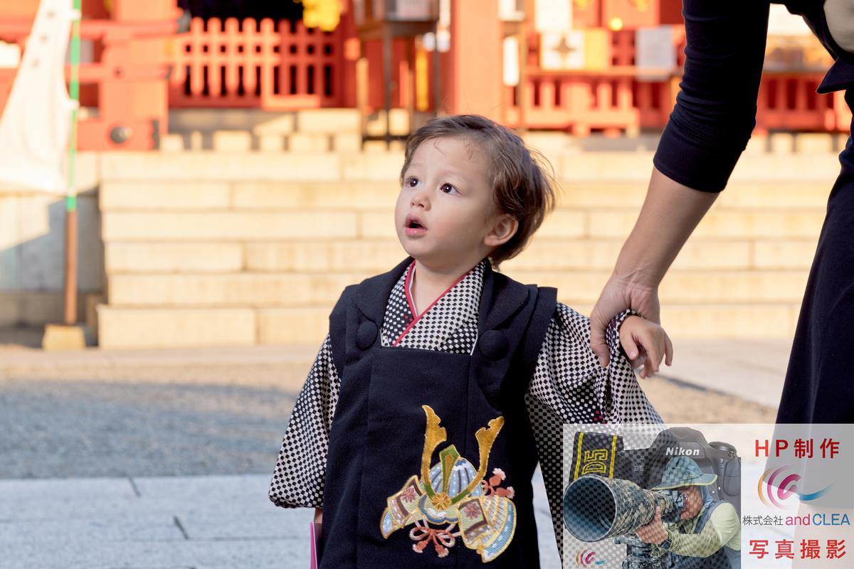 七五三の記念・家族撮影 藤崎宮
