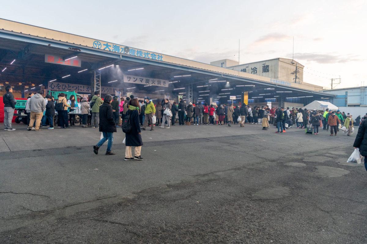イベント写真の出張撮影 田崎市場の感謝祭 2019